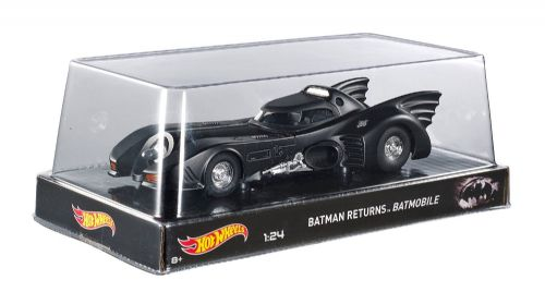 BATMAN RETURNS 1:24 SCALE BATMOBILE HOTWHEELS HERITAGE COLLECTION